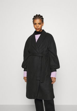 VIPULLA PUFF SLEEVE COAT - Kåpe / frakk - black