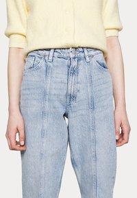 Monki - Jeans a sigaretta - light blue - 5