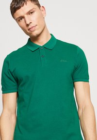s.Oliver - Polo shirt - green - 4