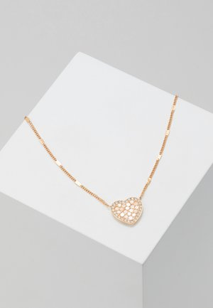 VINTAGE GLITZ - Necklace - roségold-coloured