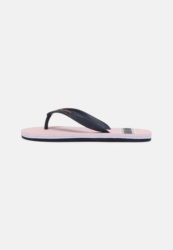 BAY BEACH WOMAN - T-bar sandals - pale pink