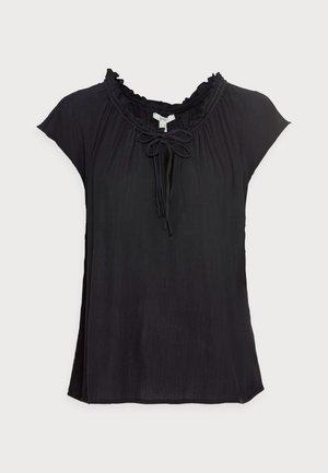 BLOUSE - T-shirts med print - black