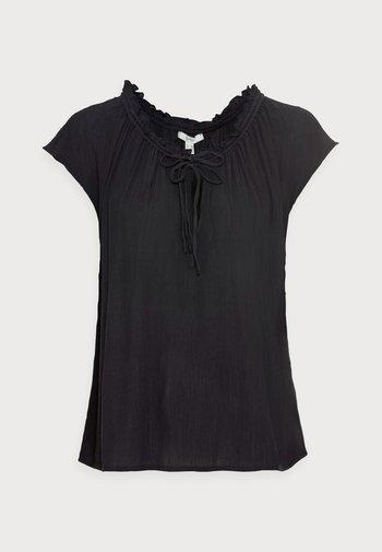 BLOUSE - T-shirt con stampa - black