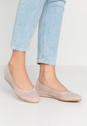 Ballet pumps - old rose