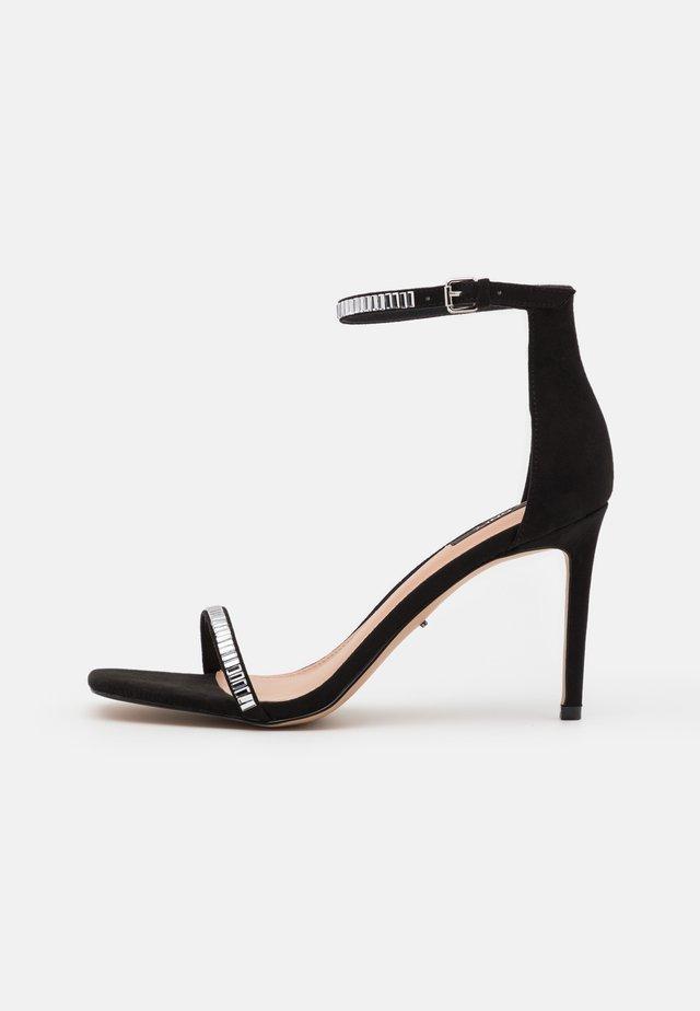 ONLALYX LIFE STONE  - Sandalen met hoge hak - black