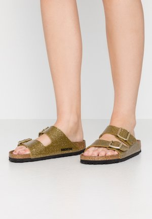 ARIZONA - Slippers - cosmic sparkle/olive tree