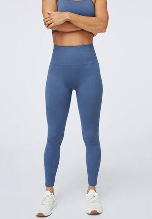 SEAMLESS - Leggings - dark blue