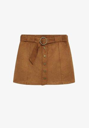 SEVEN - A-line skirt - schokolade
