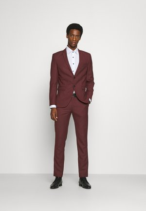 JPRSOLARIS SUIT SKINNY FIT SET - Traje - hot chocolate