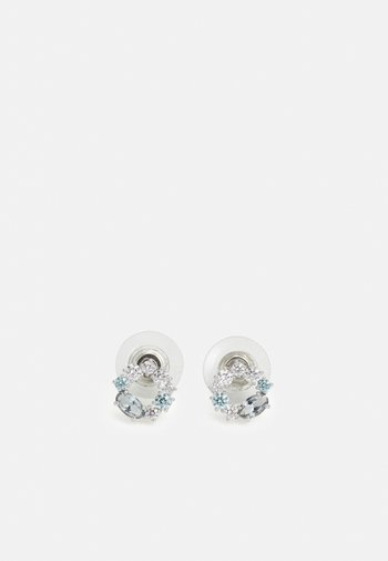 ATTRACT STUD CIRCLE - Earrings - silver-coloured
