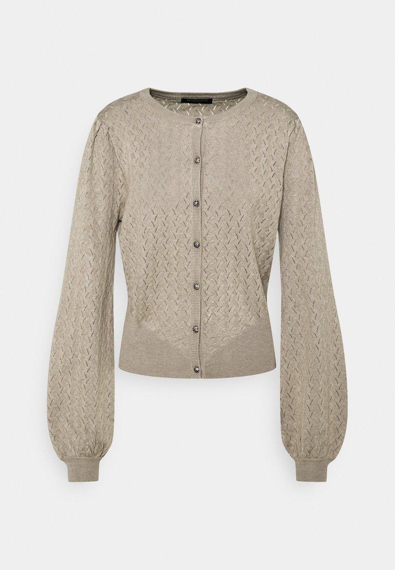 Bruuns Bazaar - ANEMONE MINNA CARDIGAN - Cardigan - beige
