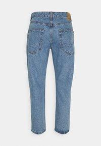Only & Sons - ONSAVI BEAM LIFE CROP - Jeans straight leg - blue denim - 1
