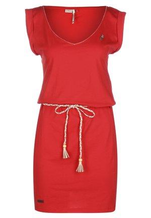 KLEID SLAVKA W - Robe en jersey - red