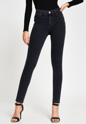 MOLLY BUM LIFT - Slim fit jeans - black