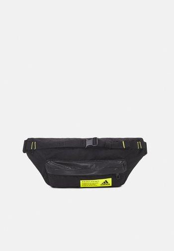 SPORT CASUAL WAIST BAG - Bæltetasker - black/black