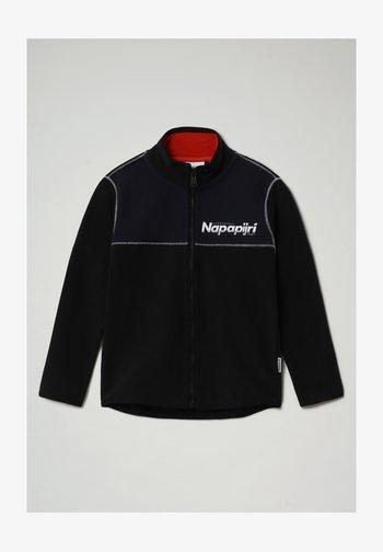 TAU FZBLU  - Fleece jacket - black 041