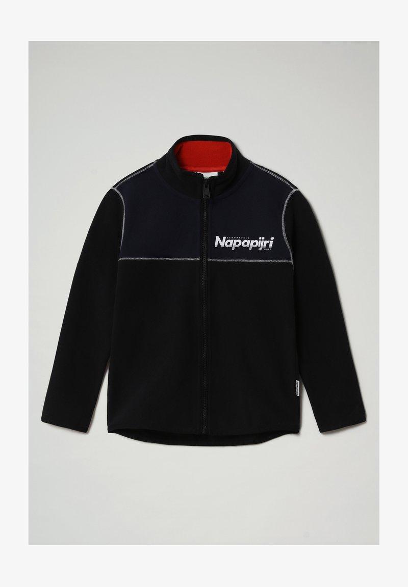 Napapijri - TAU FZBLU  - Fleece jacket - black 041