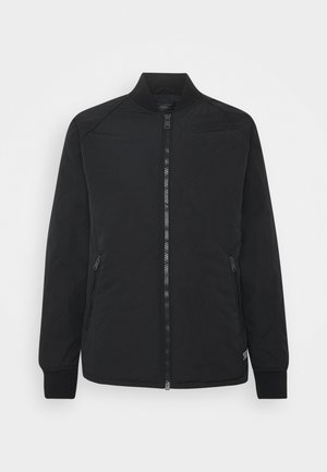 HYDE QUILTED BOMBER - Bomber Jacket - black