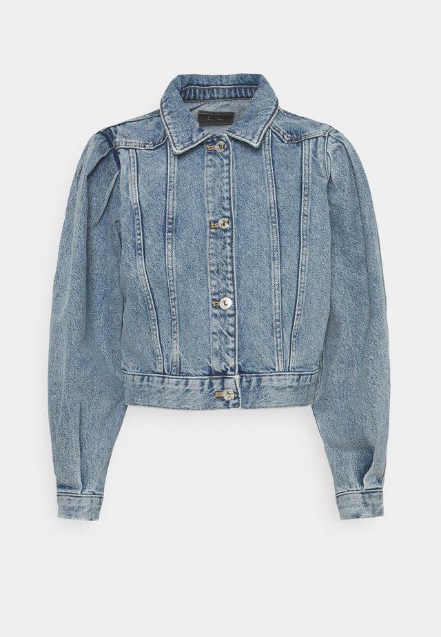 ONLCHARLIE LIFE PUFF - Veste en jean - medium blue denim