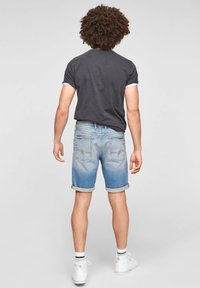 Q/S designed by - Jeans Shorts - light blue - 2