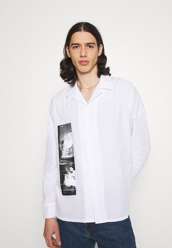MARCUS BUTLER GLITCH SHIRT - Shirt - white