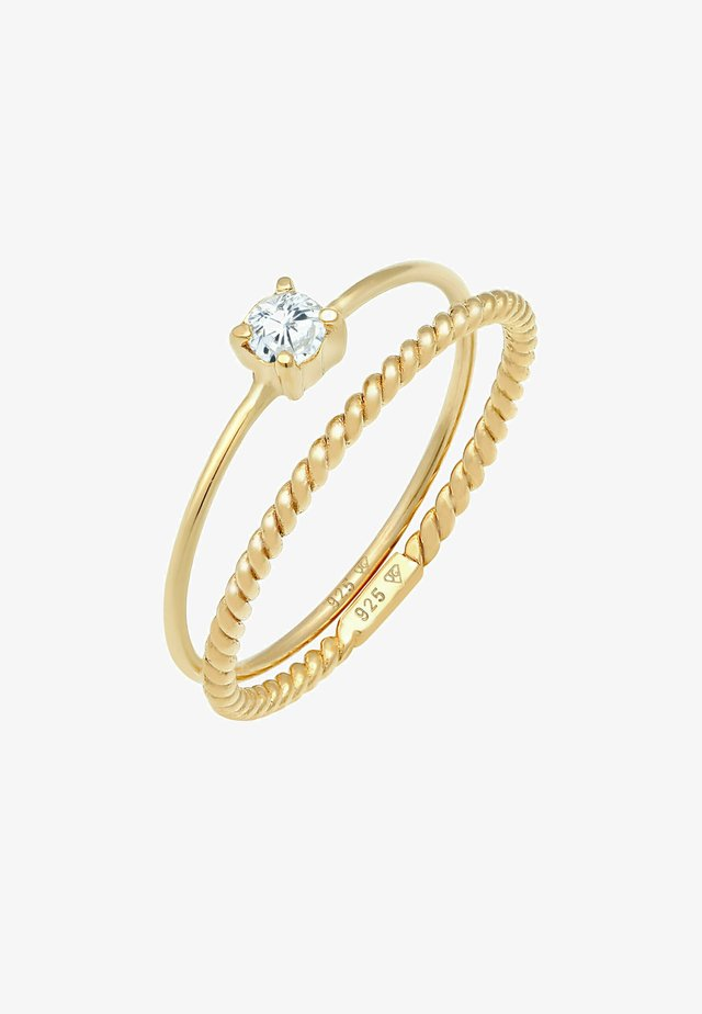 2 PACK - Anello - gold-coloured