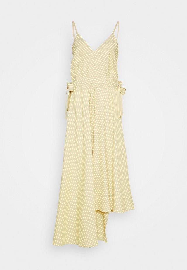 LINN 2-IN-1 - Robe longue - sand beige