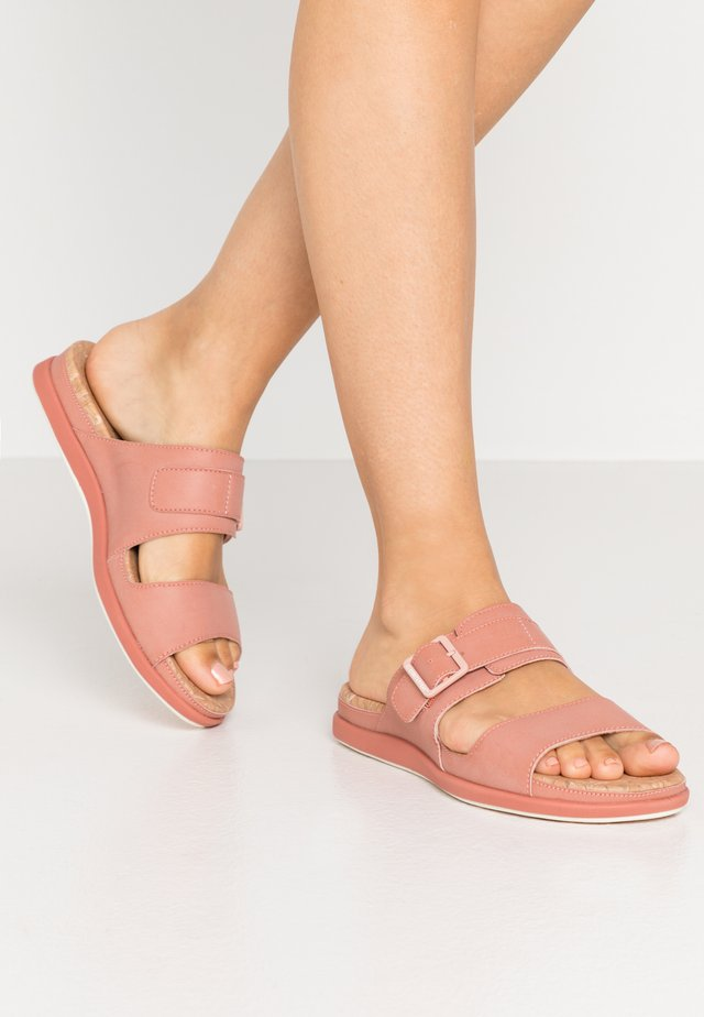 STEP JUNE TIDE - Sandalias planas - peach