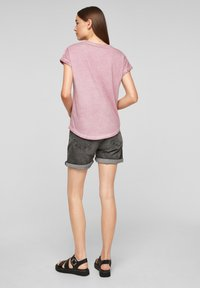 QS by s.Oliver - Print T-shirt - pink placed print - 2