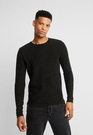 DOT - Stickad tröja - black