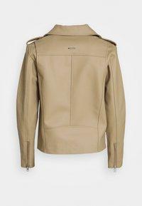 Deadwood - RIVER CACTUS  - Faux leather jacket - beige - 1