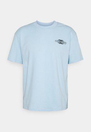 SPACE UNISEX - Print T-shirt - cerulean