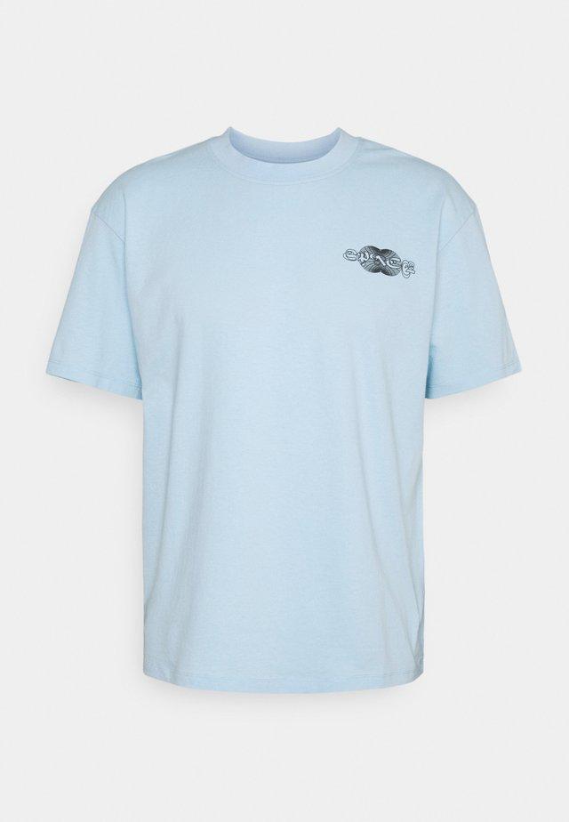 SPACE UNISEX - T-shirt print - cerulean