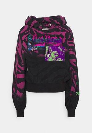 BIORG - Sweatshirt - black/pink