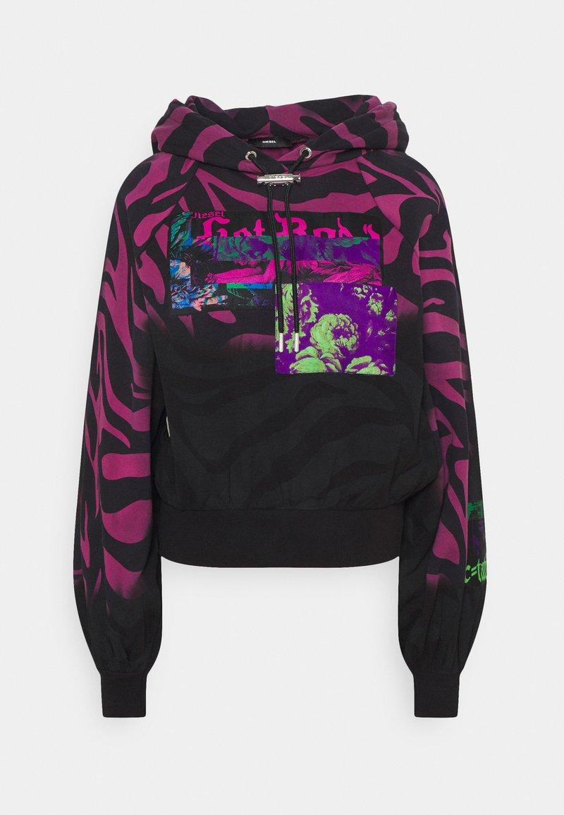 Diesel - BIORG - Sweatshirt - black/pink