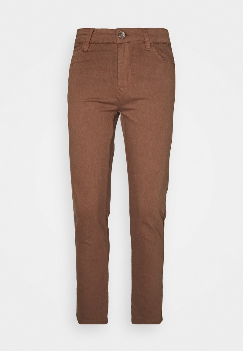 Kaffe - KAVICKY - Slim fit jeans - brown