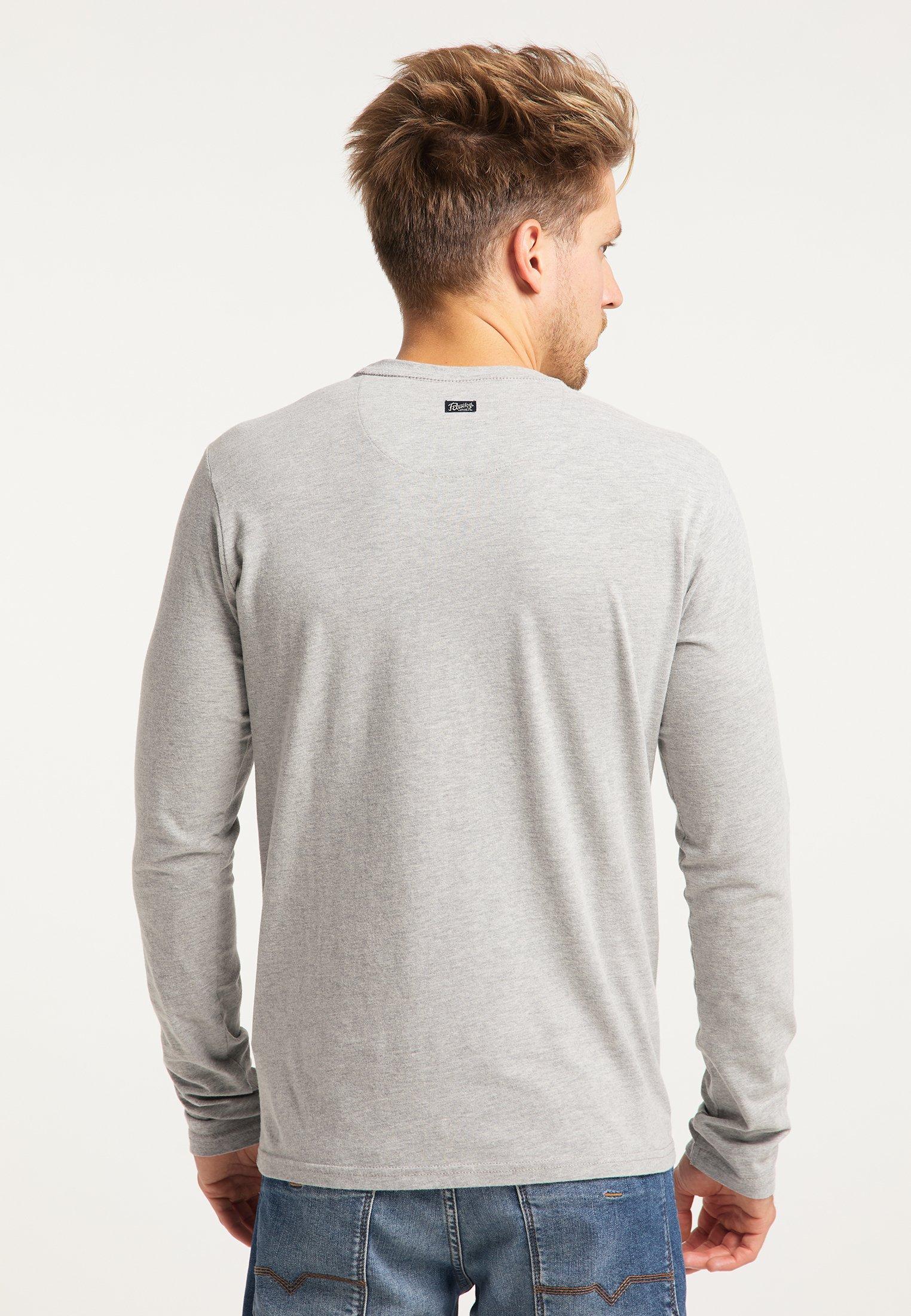 Petrol Industries Long sleeved top - light grey melee 9tVVk