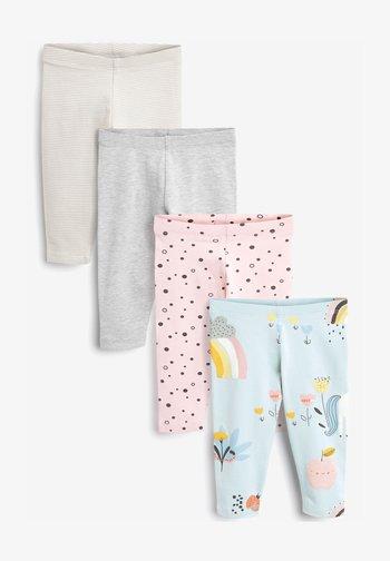 4 PACK  - Leggings - Trousers - pink