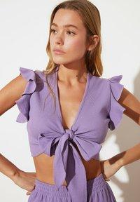 Trendyol - Blouse - purple - 3