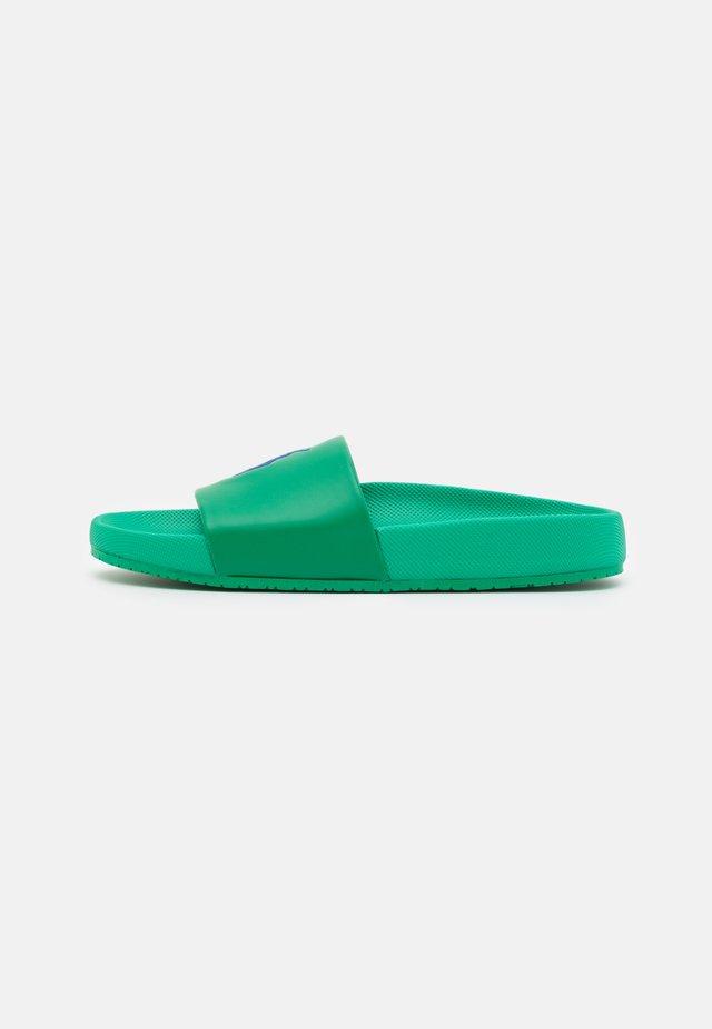 CAYSON UNISEX - Mules - billard green/royal blue