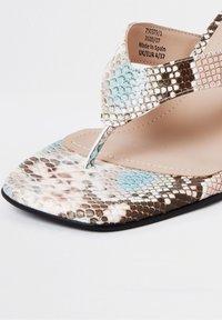 River Island - T-bar sandals - cream - 3