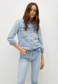 Mango - ISA - Jeans Skinny Fit - lichtblauw - 3