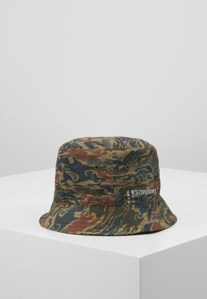 REVERSIBLE BUCKET HAT - Klobouk - green
