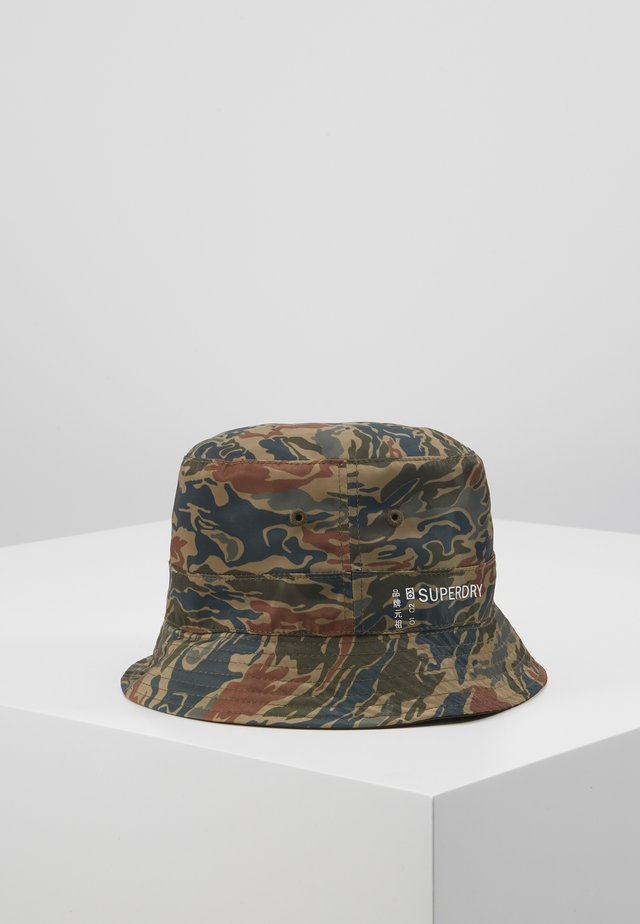 REVERSIBLE BUCKET HAT - Hatt - green