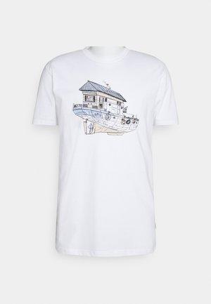 DREAMHOME - T-shirt imprimé - white