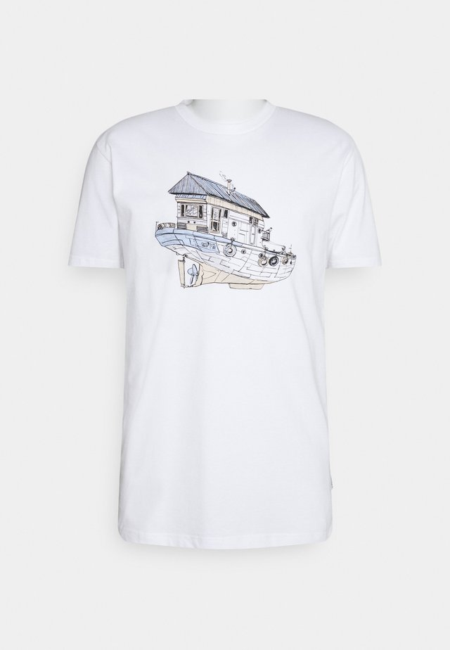 DREAMHOME - T-shirt con stampa - white