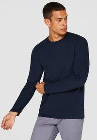 Esprit - Long sleeved top - dark blue - 0