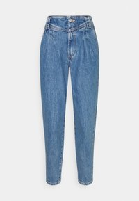 SEAMED MOM - Džíny Relaxed Fit - mid blue