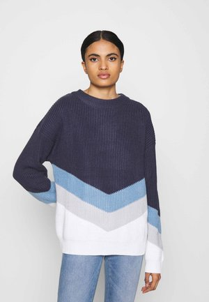 OPEN DOOR - Pullover - mood indigo