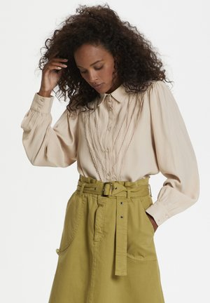 Button-down blouse - rose dust
